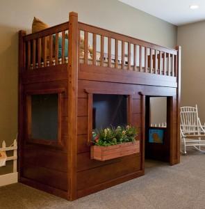 Classic-Wood-Loft-Bed-295x300